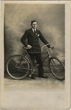 PHOTO ANCIENNE - CARTE PHOTO - CPA - VÉLO CYCLISTE BICYCLETTE - BIKE BICYCLE 4