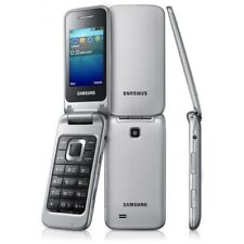 Samsung GT-C3520I Unlocked Quad-Band GSM Phone International Version - Silver