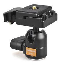 "US Adjustable Tripod Ballhead 1/4"" 3/8"" Screw Thread for DSLR Camera Canon Nikon"
