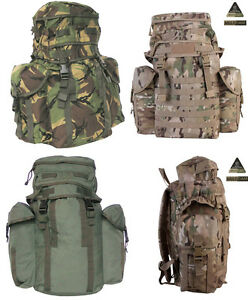 British Army Northern Island Military Patrol Assault Pack Rucksack Multicam 38L