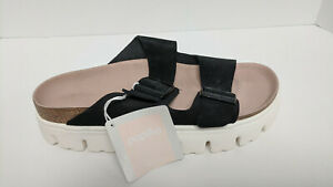 Birkenstock Arizona Slide Sandals, Black, Women's 9 Narrow (EU 40)