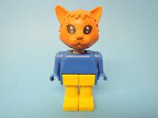 Lego  Figur Fabuland Katze 5 Cat FAB3i  3701
