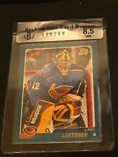 KARI LEHTONEN 2002-03 Topps Traded Hockey ROOKIE Card #TT85 Graded BGS Raw 8.5