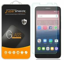 """3X Supershieldz ALCATEL OneTouch Pop 3 5.5"""" Tempered Glass Screen Protector"""