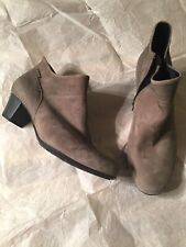 Mephisto Michaela Ankle Boots-Women's size 10.5 Taupe NWOB