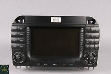 04-06 Mercedes W220 S500 CL500 Navigation Command Comand Head Unit GPS CD OEM