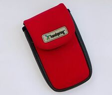 Handspring Case Pouch Neoprene Red Sport Cell Mobile Smart Phone Camera PDA
