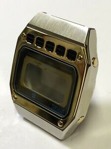 Seiko LCD A639-5050 Rara cassa completa Seriale 130111 (marzo 1981)