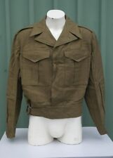 "Australian Army Battle Dress Jacket  Size 15 Dated 1952 Suits 42""-43"" Chest NOS"
