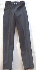 Cavallo  Softshell Damenreithose, Vollbesatz, schwarz gestreift, Gr. 36 (1097)