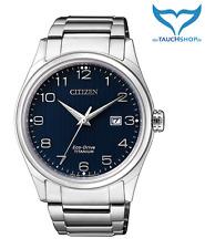 Citizen Super Titanium Herren Armbanduhr BM7360-82M Saphir Eco-Drive Herrenuhr