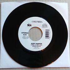 "RICKY MARTIN Livin La Vida Loca 45 7"" POP LATIN Record Vinyl 1999 Records RARE"
