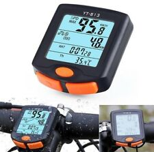 Bike Cycling Bicycle Computer Wireless Odometer & Speedometer (Brand New)