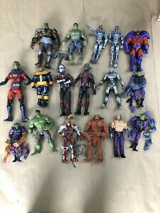 Marvel Legends BAF LOT of (17) Sasquatch, Cull, Thanos, Hulk, Ant-Man, Ultron