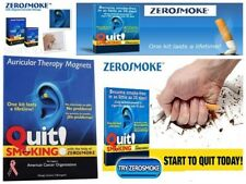 Quit Smoking Ear Magnet Cigarettes Magnetic ear Acupressure Zero Stop Smoke