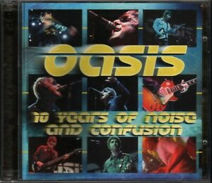 OASIS RARE LIVE 2001! 10 YEARS OF NOISE AND CONFUSION!! RARE CD GOOD QUALITY!