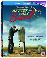 Better Call Saul Complete Series 1 Blu Ray All Episode First Season UK NEW R2