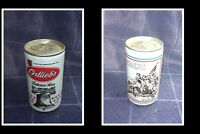 OLD COLLECTABLE USA BEER CAN, ORTLIEBS BREWERY, GEORGE WASHINGTON DELAWARE RIVER
