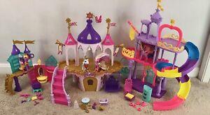 My Little Pony Princess Wedding Castle, Crystal Palace, Rainbow Kingdom MLP