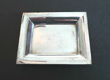 "Unusual Vintage ""Tiffany & Co."" Sterling Silver Miniature Tray, 35 grams"