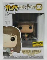 Funko Pop! Harry Potter #80 Hot Topic Exc Hermione Granger + Protector Damaged