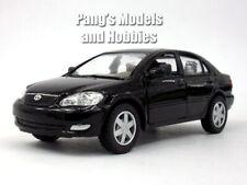 Toyota Corolla 1/36 Scale Diecast Model by Kinsmart - BLACK