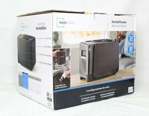 Mainstays Cool Mist Humidifier, 1 gal, MDH-0103JB Black New