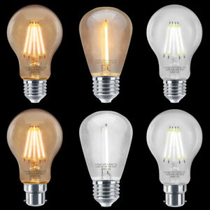 Vintage Retro Industrial Filament LED Light Bulbs Edison Cage Style Party Lamps