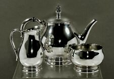 International Sterling Tea Set            1940 Royal Danish