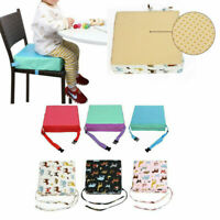 1PC 32x32x8cm Toddler High Chair Seat Pad Safe Booster Dining Cushion Adjustable