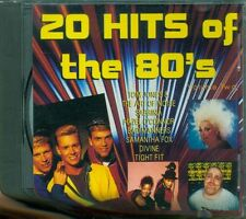 20 Hits Of The 80S Part Two - Sabrina Salerno/Divine/Samantha Fox/Bad Manners Cd