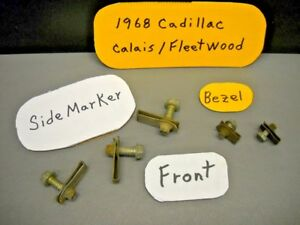 1968 Cadillac Calais Fleetwood Fender Side Marker Fastener Bolt