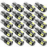 20X T10 Super Bright LED Car Canbus Error Free Light Bulb 5730 168 194 W5W Lamps