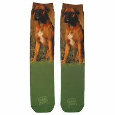 Boxer Dog Sublimation Socks Adult One Size Fits Most New USA Made