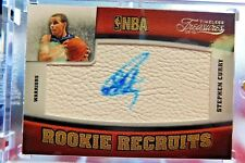2009-10 STEPHEN CURRY Panini Timeless Treasures Rookie Recruit Autograph Auto RC