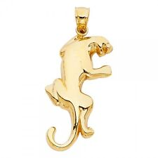 14K Yellow Gold Puma Pendant GJPT1618