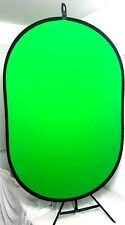 1m x 1.5m Chromakey Collapsible Green Screen / Blue Screen Background with stand