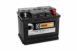 Genuine FORD Omnicraft 027 AGM, 60ah 680en STOP START Battery - 560901068