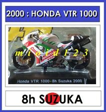 1/18 - HONDA VTR 1000 SPW - ROSSI EDWARDS - 2000 8h SUZUKA - Die-cast