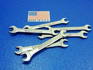 (1) CLASSIC CRAFTSMAN METRIC 12MM X 14MM OPEN END WRENCH P/N 44506 VV FORGE LOT