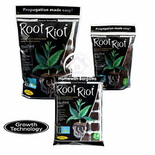 More details for root riot 24 tray, 50 or 100 bag refill propagation spongy cubes hydroponics