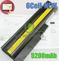 Battery for IBM Lenovo ThinkPad T61 T61p T60 R61 R61i R60 T500 W500 R500 6Cell