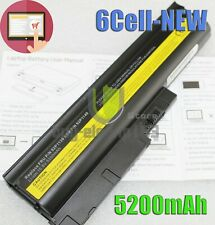 6 Cell Battery for IBM Lenovo Thinkpad T60 R500 T500 W500 SL300 SL400 40Y6797