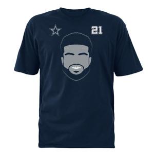 Dallas Cowboys NFL Boys'  Ezekiel Elliott T-Shirt, Size Large (16/18), NWT