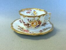 ANTIQUE HAMMERSLEY DRESDEN SPRAYS BONE CHINA CUP and SAUCER