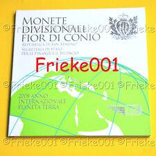 San Marino - San Marin - Officiële set 2008 BU.(Met 5 euro)
