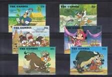 Serie Disney postfris MNH The Gambia: Donald Mickey (dis157)