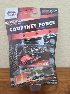 2018 Courtney Force Advance Auto Funny Car 1/64 NHRA NASCAR Authentics Diecast