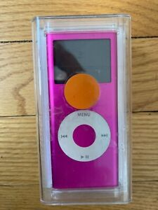 Vintage Apple iPod Nano 4 GB 2nd Generation Gen Product Pink A1199 New Sealed