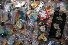 Disney World Trading Pins Pin Lot of 100 No Duplicates Plus Bonus Pin on Card
